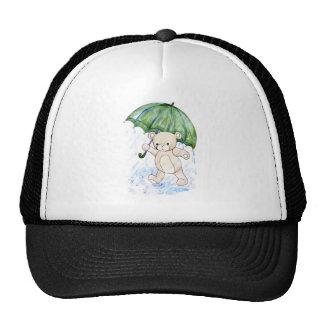 Beary wet teddy cap