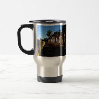 BEASHA Beach Shadows Stainless Steel Travel Mug