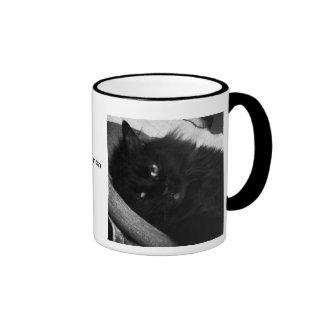Beast at Rest Cat Haiku Mug