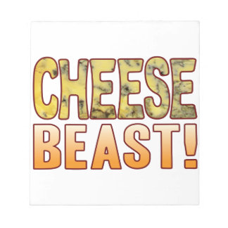 Beast Blue Cheese Notepad