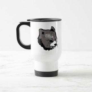 Beast Face Stainless Steel Travel Mug