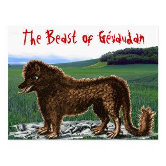 Beast of Gévaudan Postcard