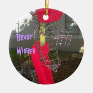 Beast, Penguin, Holiday pendant Christmas Ornament