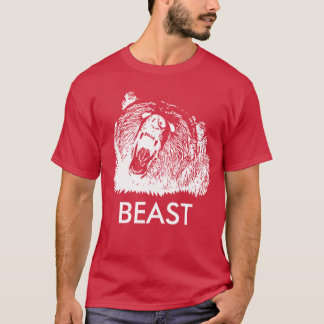 Beast Roaring Grizzly Bear T-Shirt