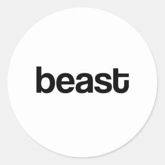Beast Sticker