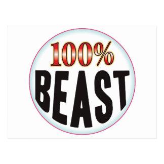 Beast Tag Postcard