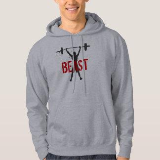 Beast your workouts! sweatshirts