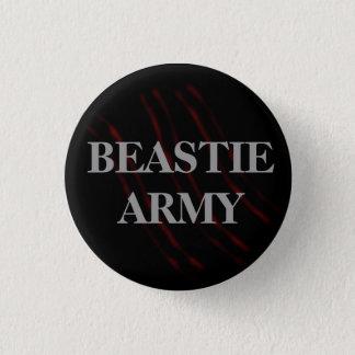 Beastie Army Claw Button
