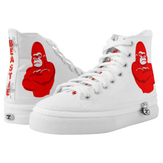 Beastie Red Gorilla High Top