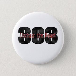 beastly 383 stroker motor 6 cm round badge