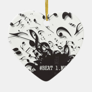 #beat1.MHz Ceramic Heart Decoration