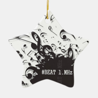 #beat1.MHz Ceramic Star Decoration