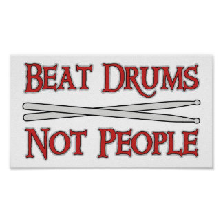 Beat Drums Poster