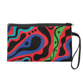 Beat Goes On bag Wristlet Clutch