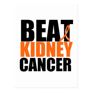 Beat Kidney Cancer Postcard