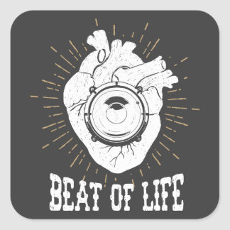 Beat Of Life Stickers
