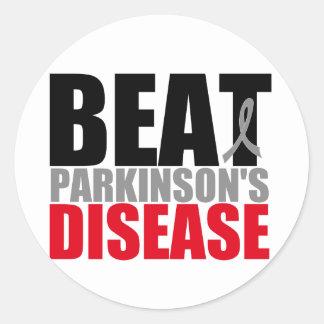 BEAT Parkinson s Disease Round Stickers