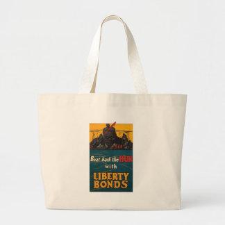 Beat The Hun World War 2 Canvas Bag