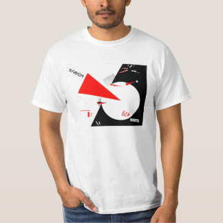 beat the white with the red wedge T-Shirt