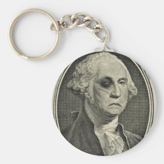 Beat up George Keychains