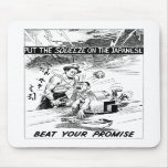 Beat Your Promise Cartoon Mousemats