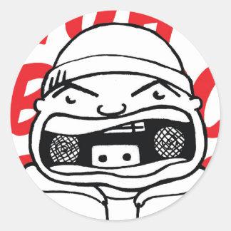 Beatbox Sticker