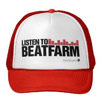 Beatfarm Listen Red Cap