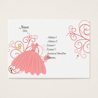 Beatiful, Beautiful Dress Business Card