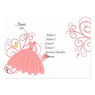 Beatiful, Beautiful Dress Pack Of Chubby Business Cards