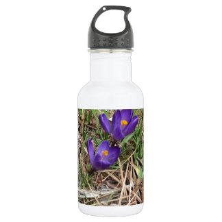 Beatiful Purple Mountain Iris 2 532 Ml Water Bottle