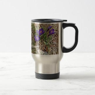 Beatiful Purple Mountain Iris 2 Mugs