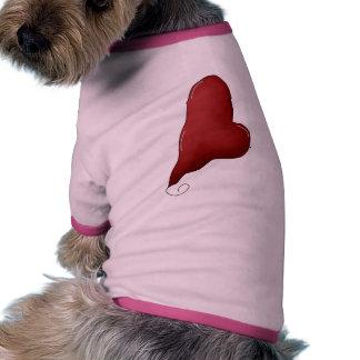 Beating Heart Dog T Shirt