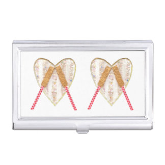 Beating Heart Drum Business Card Holder