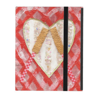 Beating Heart Drum I-Pad 2/3/4 Case iPad Folio Cover