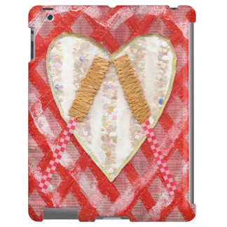 Beating Heart Drum I-Pad Back iPad Case