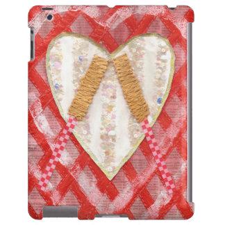 Beating Heart Drum I-Pad Back iPad Case