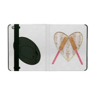 Beating Heart Drum I-Pad Case 2/3/4 With Kickstand