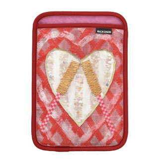 Beating Heart Drum Mini I-Pad Case