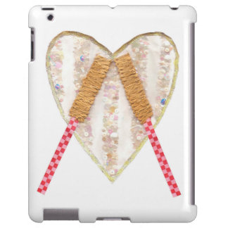Beating Heart Drum No Background I-Pad Back iPad Case
