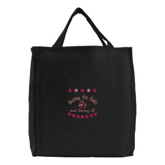 Beating the Odds and loving it! Embroidered Bag