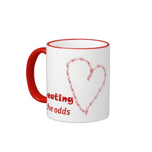Beating the Odds (and loving it!) Mug