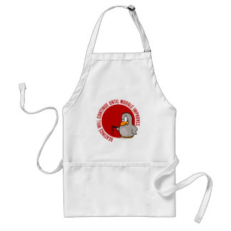 Beatings will continue until morale improves standard apron