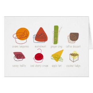 Beatles sweets card