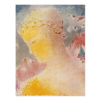Beatrice by Bertrand-Jean Redon Postcard