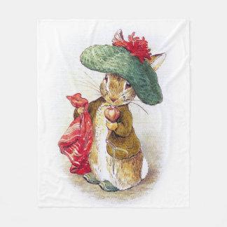 Beatrix Potter: Benjamin Bunny Fleece Blanket