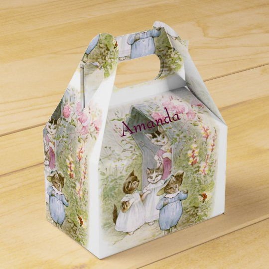 Beatrix Potter, Birthday Favour, Easter Gift Favour Box