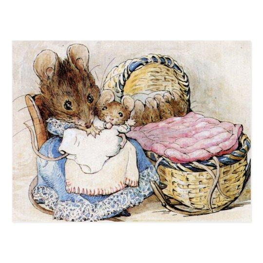 Beatrix Potter, Children's Story Books, Custom Postcard