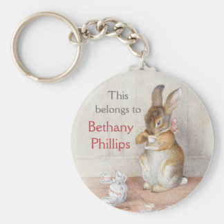 Beatrix Potter Custom Personalised Key Chain
