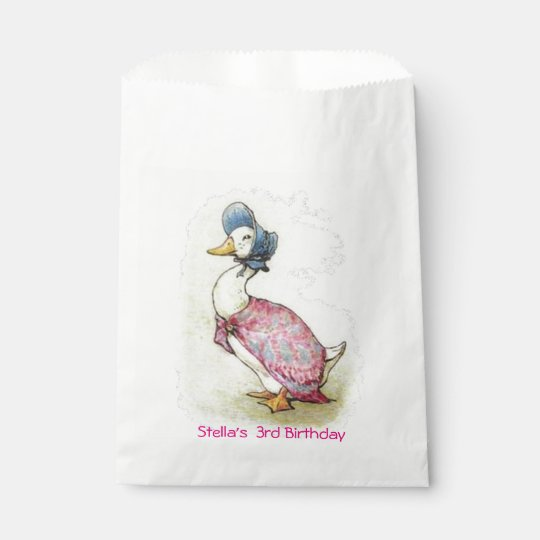 Beatrix Potter, Jemima Puddle Duck, Favour Bags