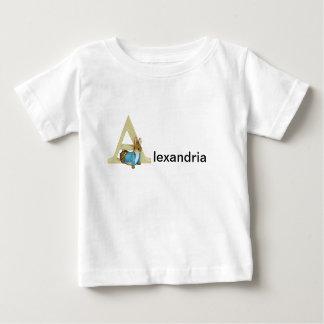 Beatrix Potter Letter A Toddler & Baby Name Shirt